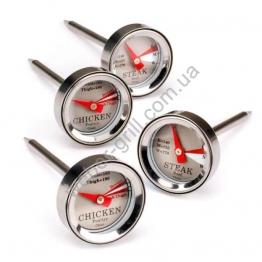 Набор из 4х стрелочных термометров для мяса и птицы RT-04
